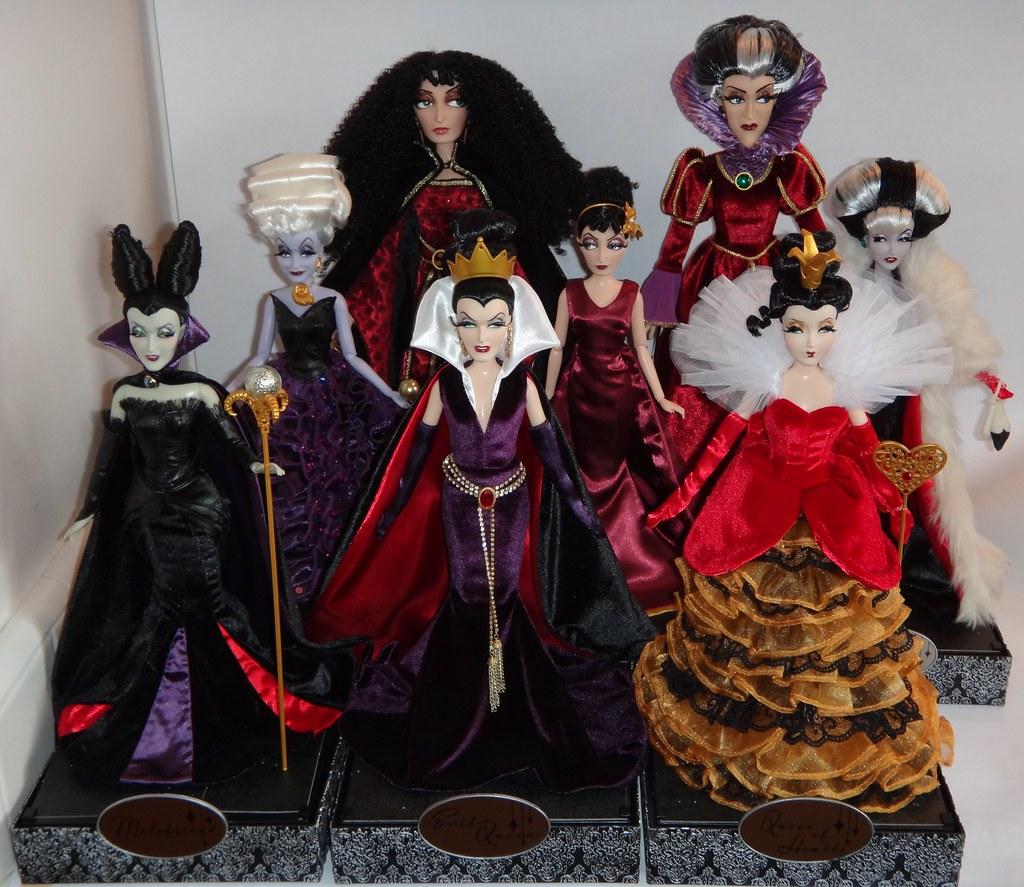 disney villains designer collection dolls and 17 le vill