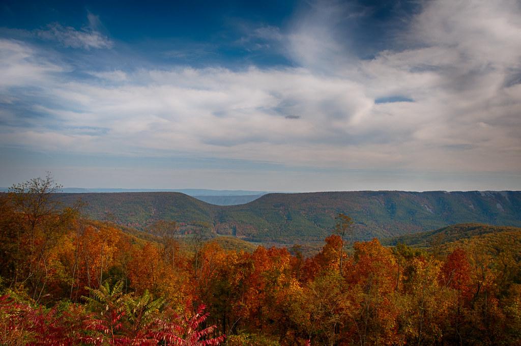 Saddle Mountain Wv Taken With Nikon D300 Along Route 50