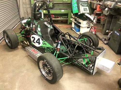 Formula SAE race car | by Wayne State University