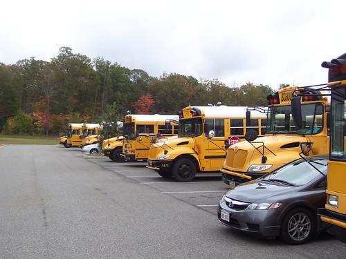 how to get school bus conract