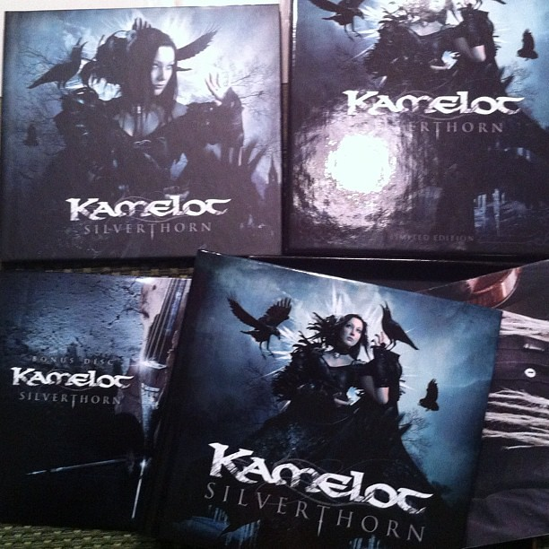 kamelot silverthorn limited edition