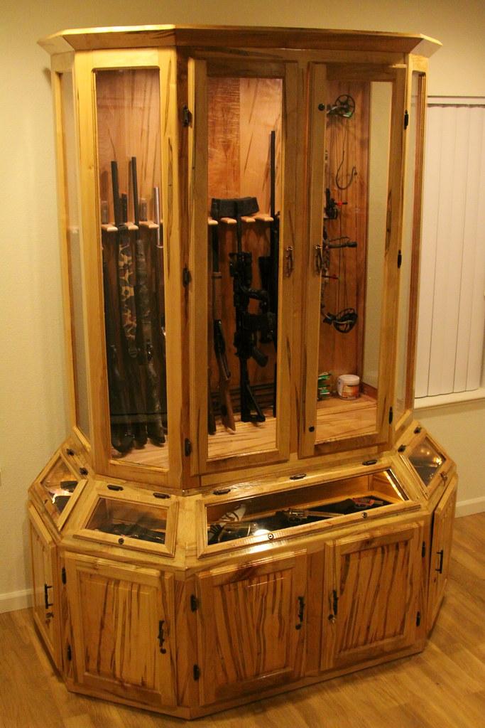 Genial ... Nateu0027s Custom Gun Cabinet | By BK2Bennett
