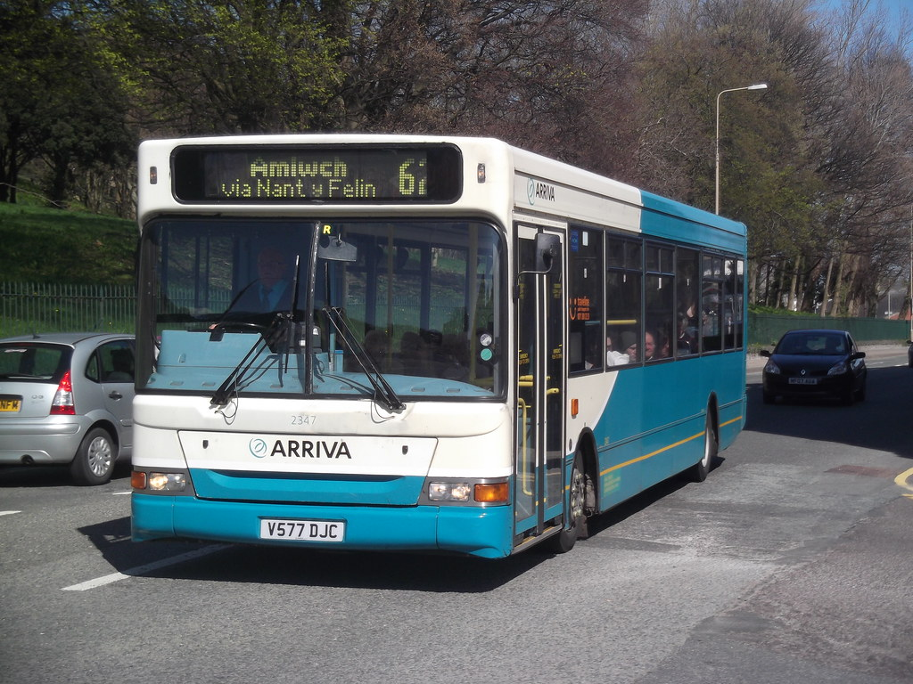 ... Arriva Buses Wales - V577DJC, 2347 | by M.R.P Photography
