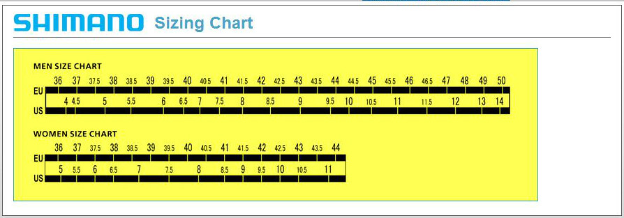 Shoe Size Conversion Chart: Shimano Shoe Size Chart   We have been testing them out and u2026   Flickr,Chart