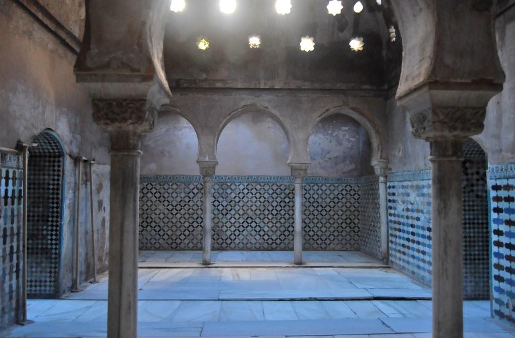 Granada la alhambra ba os reales sala de reposo flickr - Abella granada ...