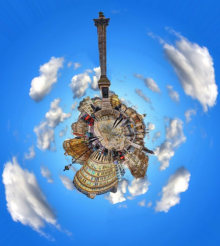 Trafalgar Square - Polar Panorama | by Anatoleya