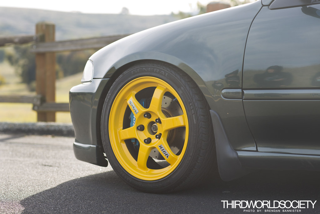 Honda Civic EG K20 Swap On Volk TE37 | Jorge's JDM K20 Swap … | Flickr