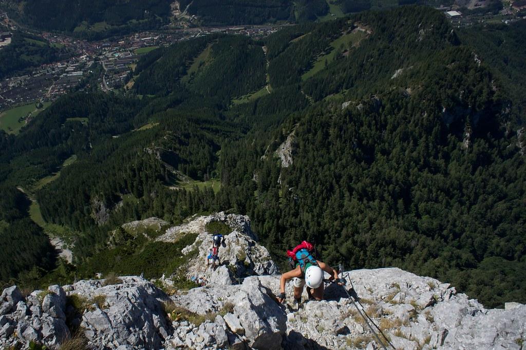 Klettersteig Eisenerz : Leopoldsteinersee der schönste see für klettersteig fans travel