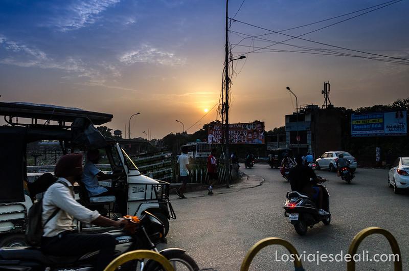 Amritsar al anochecer
