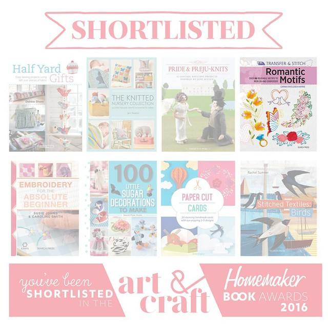 My book shortlisted for an award!
