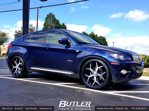 Bmw X6 With 24in Asanti Af164 Wheels Additional Picture