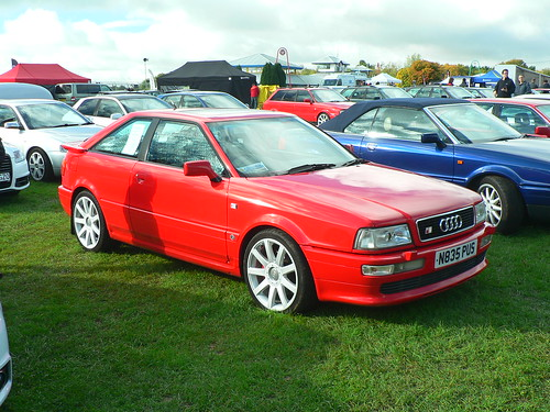 Audi Coupe S2 N835 Pus At Castle Combe Audi Coupe S2