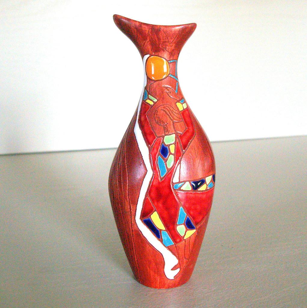 Ilfullxfull50s vintage mid century modern geometric abst flickr ilfullxfull50s vintage mid century modern geometric abstract ceramic pottery vase made by keramos israel reviewsmspy