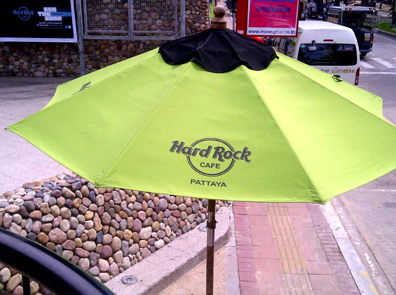 Hard Rock Pattaya umbrella