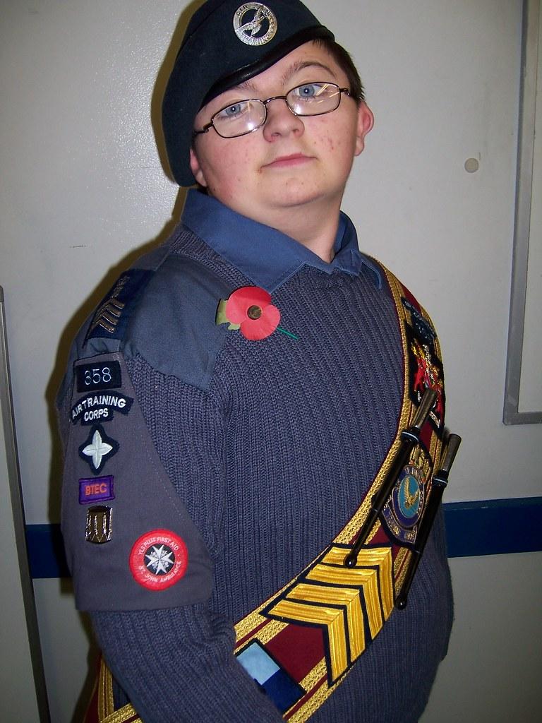 Drum Major Cadet Benjamin White Oc 358 Flickr