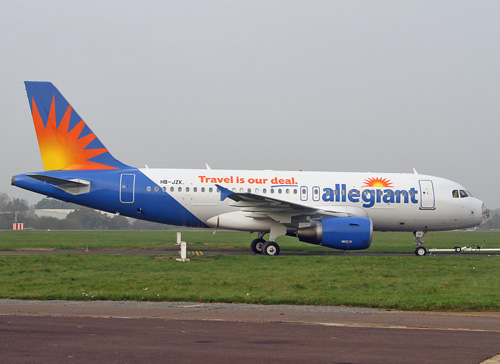 HB-JZK Airbus A319-111 Allegiant Air | First Airbus for ...