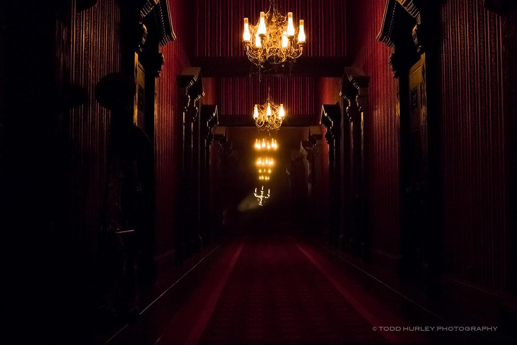 Haunted Mansion Endless Hallway Walt Disney World The