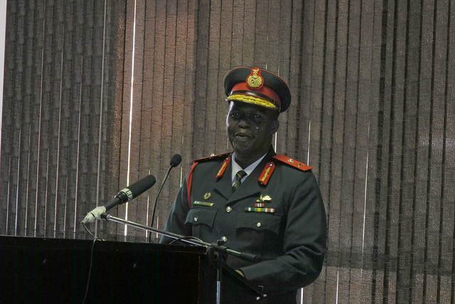 On September 5, 2017, the head of Lesotho's army, Lt Gen Khoantle Motso-Motso was killed