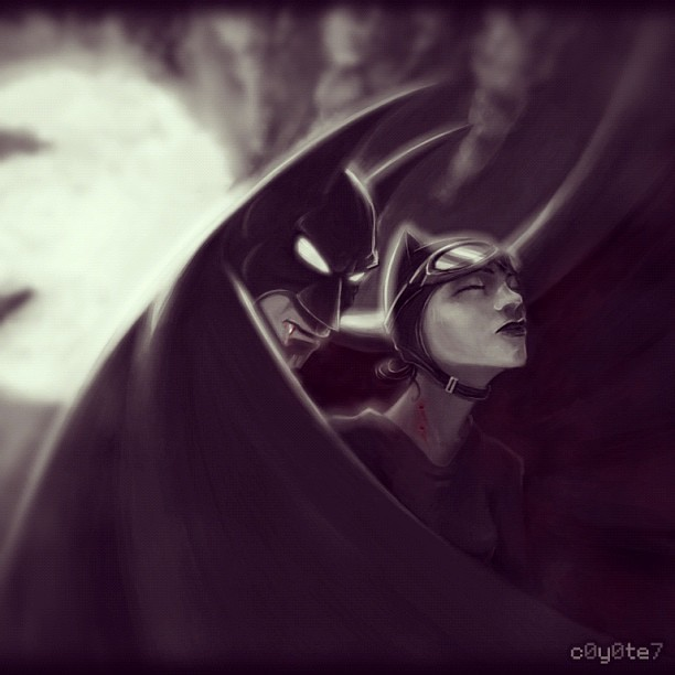 Bruce the Vampire #batman #catwoman #vampire #halloween #b ...