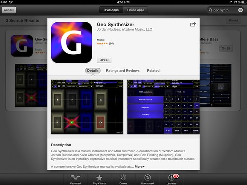 geo synthesizer ipad midi controller apps for music comp flickr. Black Bedroom Furniture Sets. Home Design Ideas