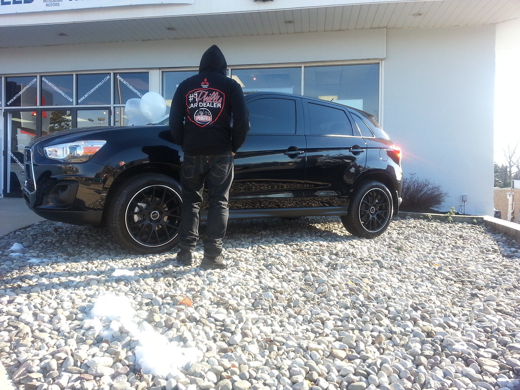 Black On Black Custom Mitsubishi Outlander Sport
