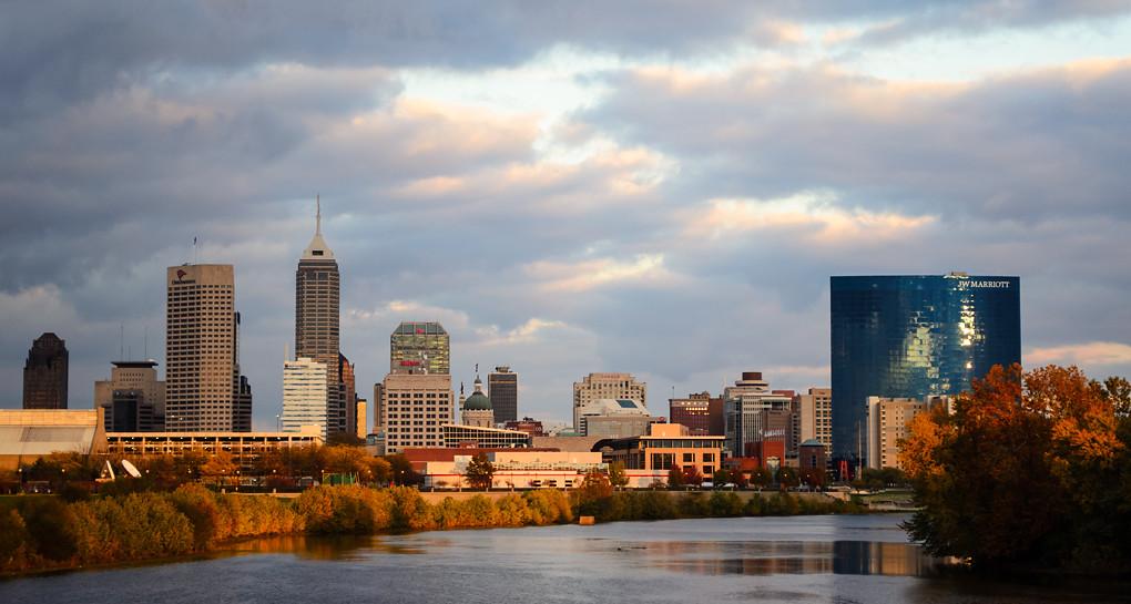 Indianapolis skyline, Indianapolis hotels