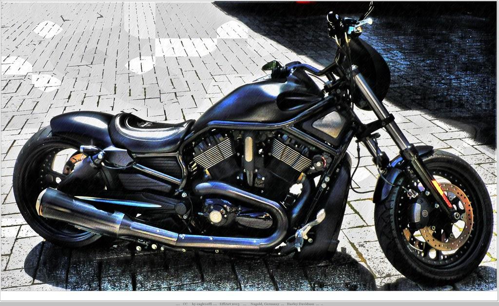 harley davidson bike motor cycle presented on the mar. Black Bedroom Furniture Sets. Home Design Ideas