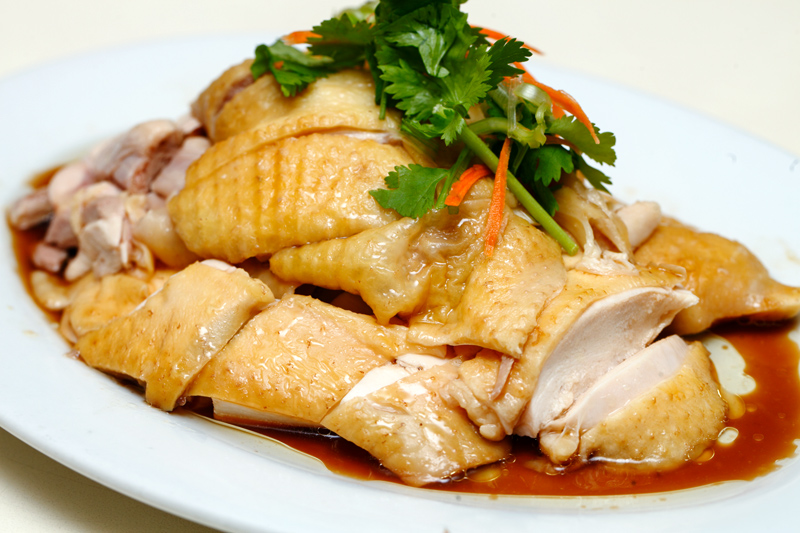 Loke Yun Steamd Kampung Chicken