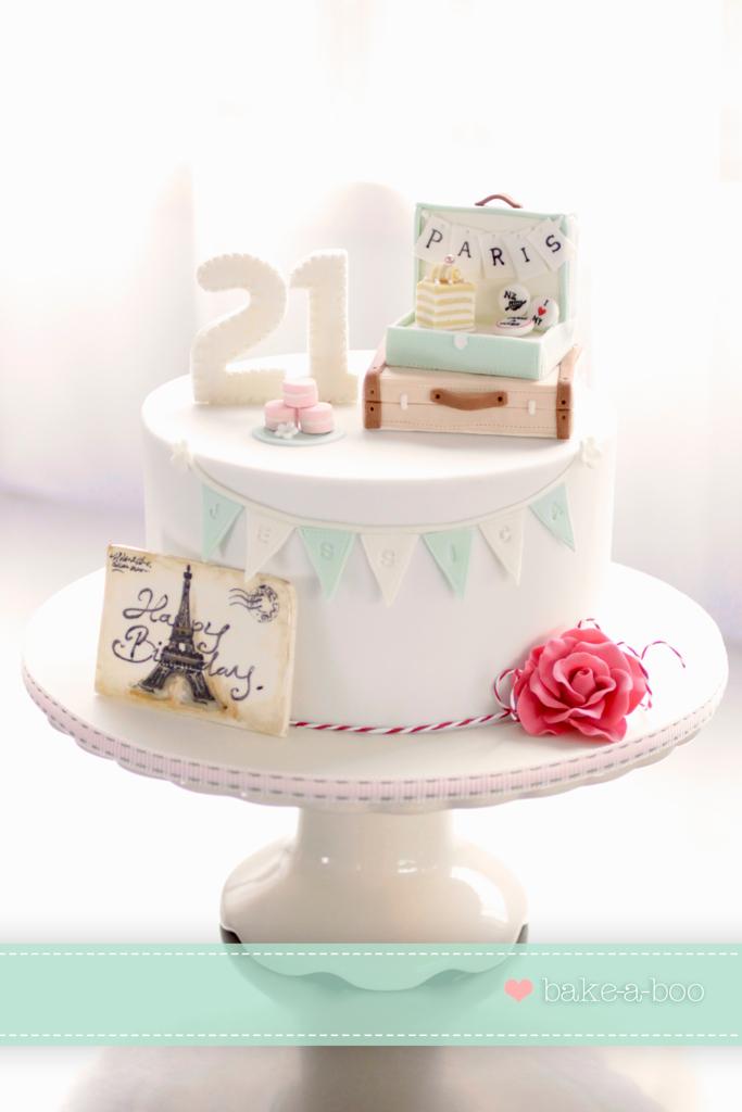 Traveling With Wedding Cake