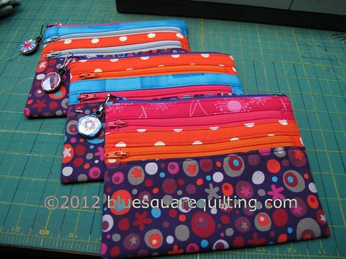 3-zipper pouches - purple medleywtmk | by bluesquarequilting