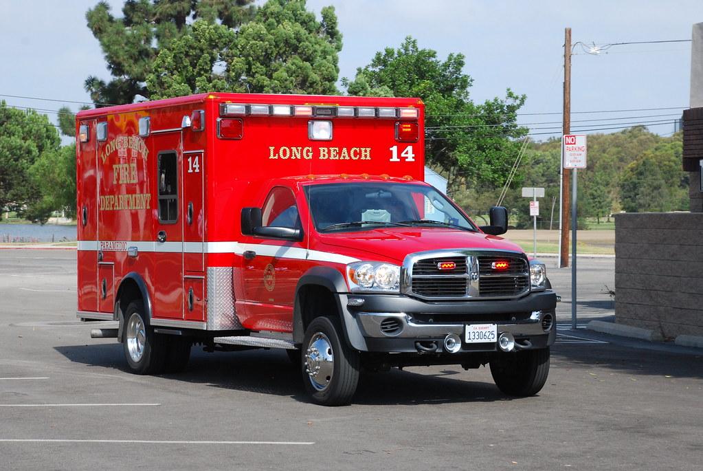 LBFD Ambulance | Long Beach Fire Department Dodge ...