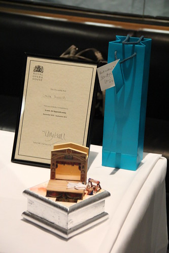 Louisa Mozzilli's awards at the Apprenticeship Prize Giving Celebration © ROH 2012 | by Royal Opera House Covent Garden