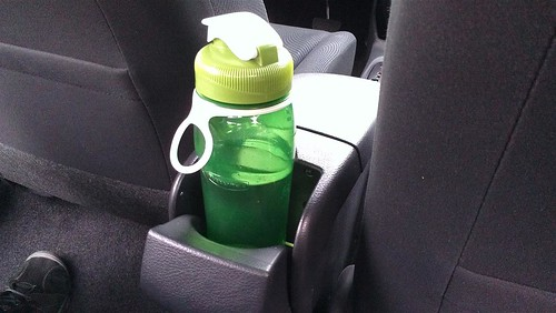 This bottle isn't going anywhere | by Drive All The Cars