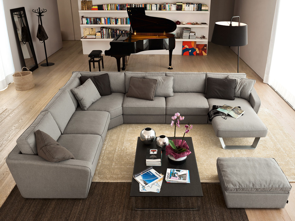 Divano in tessuto alyon nella foto il divano alyon cs