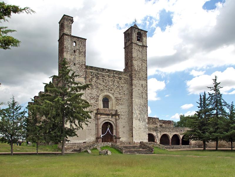 Ex Convento Franciscano de San Juan Bautista, en los alrededores de Puebla