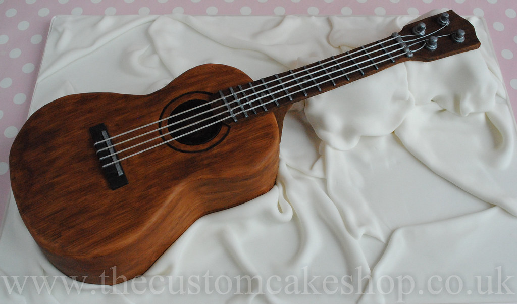 Ukulele Birthday Cake A Life Size Replica Of A Soprano