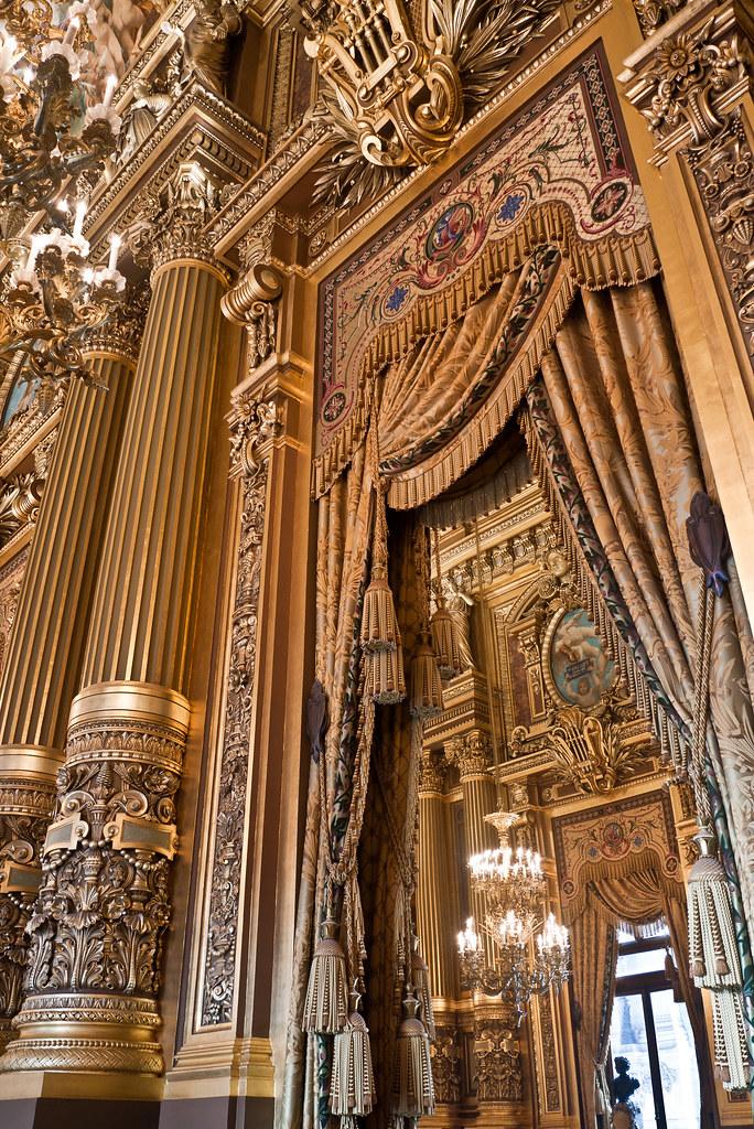 Grand Foyer Du Souss : Detail du grand foyer détail de l opéra