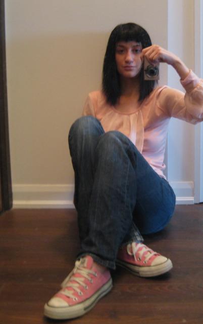 Cute Girl Self Shot Mirror  Take A Look At My Website Self  Flickr-6572