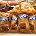 cheeseburger-flavored potato chips