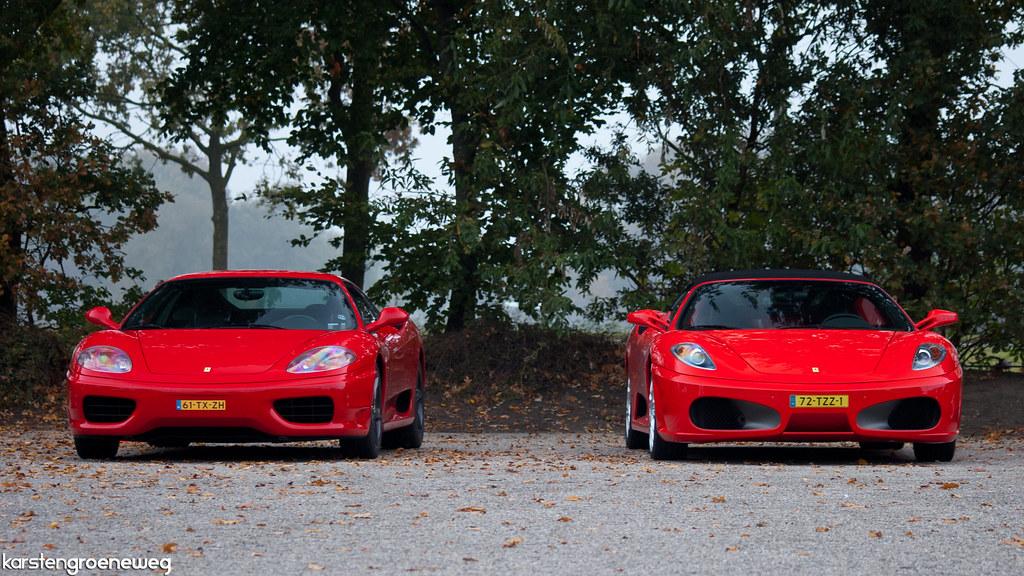 Ferrari 360 Modena Amp F430 Spider Ferrari Herfrstrit