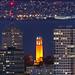 Orange Coit Tower San Francisco