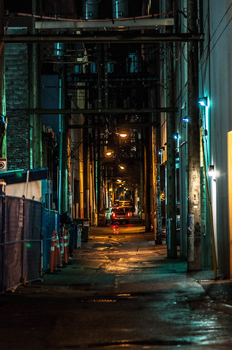 "Alley ""That Lonely Section of Hell"" 