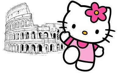 Cat in Rome | by Mike Licht, NotionsCapital.com