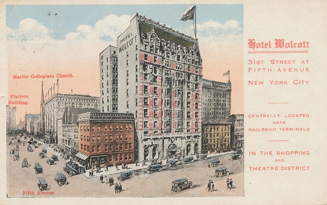 hotel wolcott new york new york flickr photo sharing. Black Bedroom Furniture Sets. Home Design Ideas