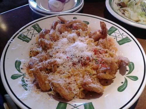Crispy Parmesan Shrimp Olive Garden Spotted On Foodspott Flickr