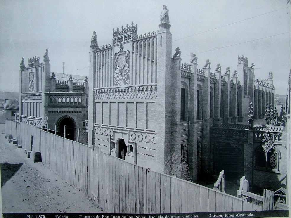 Escuela de Artes de Toledo en 1897. Fotografía de Rafael Garzón