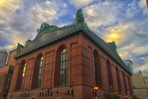 Harold Washington Library | by Kansas Poetry (Patrick)