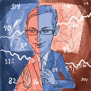 Nate Silver - rough | by wardomatic