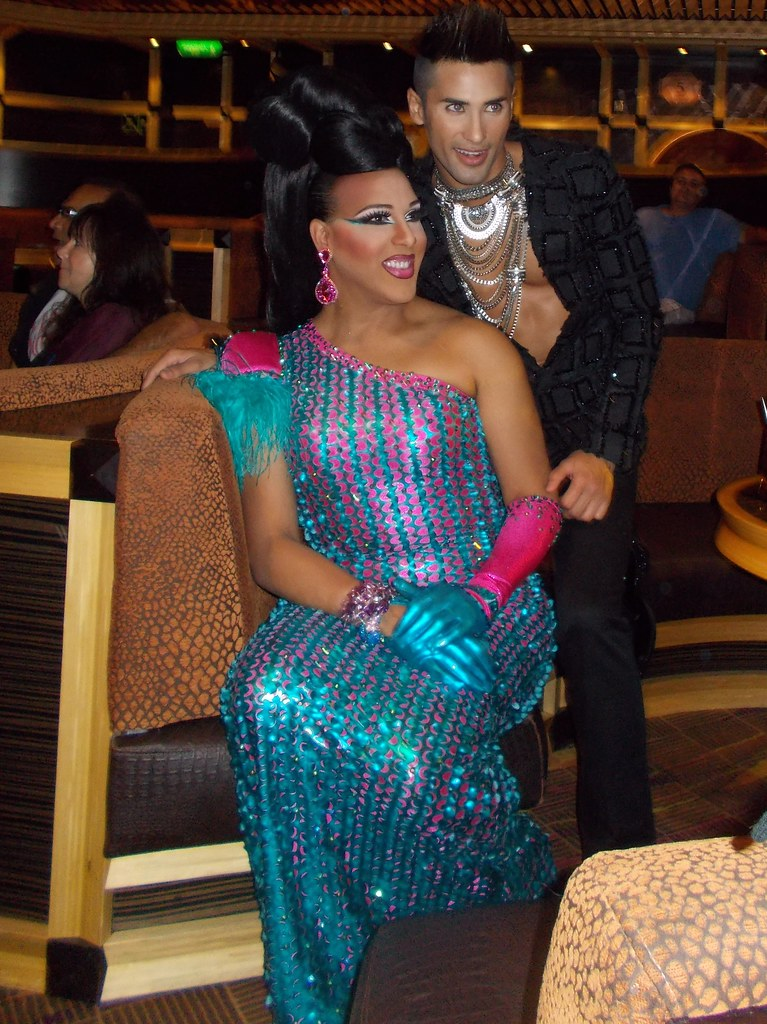 Drag Stars At Sea Alexis Mateo Amp Her Super Hot Boyfrien