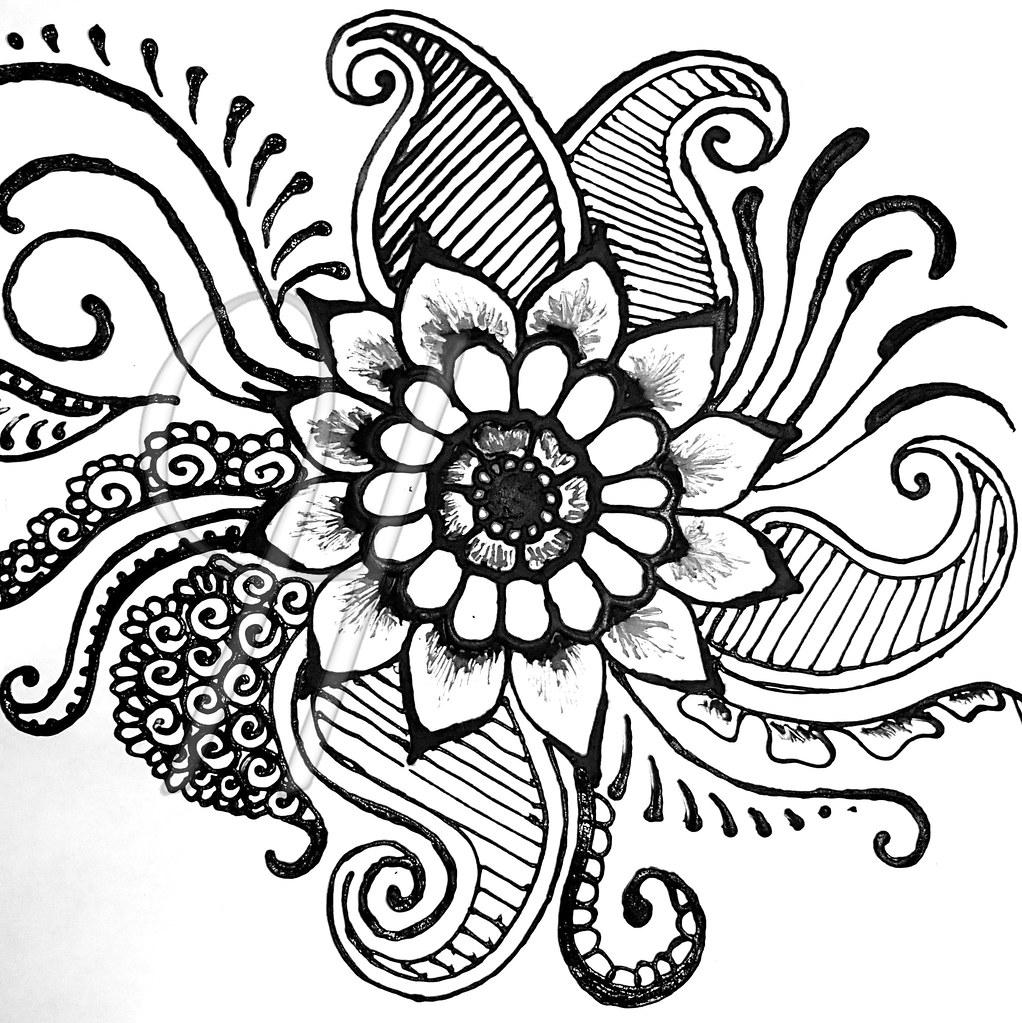 101412 Golden Mean Flower J Henna Jen Henna Grand Rapids M Flickr